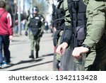 special police forces on duty | Shutterstock . vector #1342113428