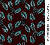 watercolor seamless pattern...   Shutterstock . vector #1342203452
