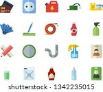 color flat icon set pipes flat...   Shutterstock .eps vector #1342235015