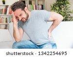 man portrait feeling bad for... | Shutterstock . vector #1342254695