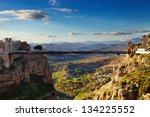 constantine  the city of... | Shutterstock . vector #134225552