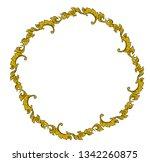 thai decorative elements vector ... | Shutterstock .eps vector #1342260875