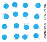 illustration of 16 ui icons...