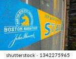 hopkinton  ma  usa   apr 23 ... | Shutterstock . vector #1342275965