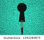 big data privacy and security... | Shutterstock . vector #1342284875