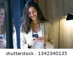 shot of smiling young... | Shutterstock . vector #1342340135