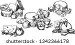 creative conceptual vector set. ... | Shutterstock .eps vector #1342366178