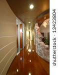 a modern office hall in a new... | Shutterstock . vector #13423804