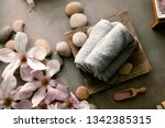 spa and wellness. natural...   Shutterstock . vector #1342385315