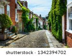 charming houses in beautiful ...   Shutterstock . vector #1342394702