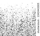 scattered dense balck dots.... | Shutterstock .eps vector #1342443305
