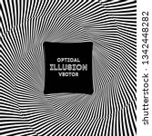 optical illusion lines... | Shutterstock .eps vector #1342448282
