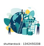 vector creative illustration of ... | Shutterstock .eps vector #1342450208