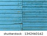 the old blue wood texture with...   Shutterstock . vector #1342460162