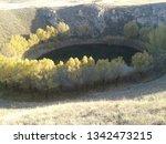 gypsum lakes sivas turkey   Shutterstock . vector #1342473215