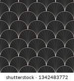 seamless art deco pattern.... | Shutterstock .eps vector #1342483772