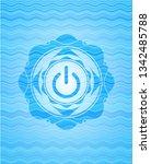 power icon inside light blue...   Shutterstock .eps vector #1342485788