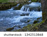 beautiful waterfalls in the...   Shutterstock . vector #1342513868