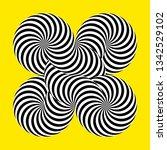 infinity symbol of interlaced... | Shutterstock .eps vector #1342529102