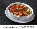 portion of portuguese caldo... | Shutterstock . vector #1342529378