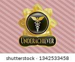 shiny emblem with caduceus...   Shutterstock .eps vector #1342533458