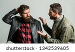 men failed deal argue. failure... | Shutterstock . vector #1342539605