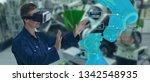 iot industry 4.0 concept... | Shutterstock . vector #1342548935