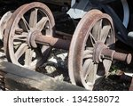 Rusty Wheels Of Old Steam...