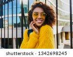 outdoor bright portrait of...   Shutterstock . vector #1342698245