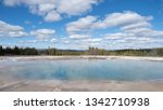 the excelsior geyser crater in... | Shutterstock . vector #1342710938