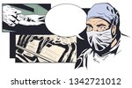 stock illustration. blood for... | Shutterstock .eps vector #1342721012