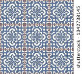 gorgeous seamless pattern from... | Shutterstock .eps vector #1342738145
