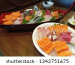 japanese food that people... | Shutterstock . vector #1342751675