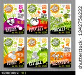 food label set stickers... | Shutterstock .eps vector #1342756232