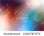 abstract colorful background... | Shutterstock .eps vector #1342787372