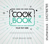 cover page of best cookbook.... | Shutterstock .eps vector #1342788785