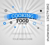 cooking food recipes. american... | Shutterstock .eps vector #1342791842