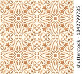 vector seamless pattern with... | Shutterstock .eps vector #1342799735