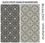 vector seamless pattern with... | Shutterstock .eps vector #1342799738