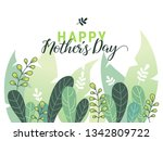 happy mother's day... | Shutterstock .eps vector #1342809722