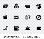 investment icons set | Shutterstock .eps vector #1342824818