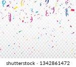 celebration background template ... | Shutterstock .eps vector #1342861472