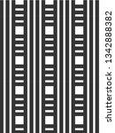 black and white strips pattern... | Shutterstock .eps vector #1342888382