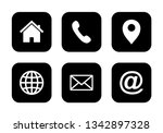website set icon  web icon set... | Shutterstock .eps vector #1342897328