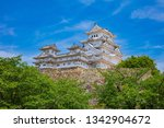 himeji castle beautiful castle... | Shutterstock . vector #1342904672