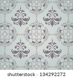 abstract seamless pattern with... | Shutterstock .eps vector #134292272