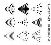 spray icons set | Shutterstock .eps vector #1342931945