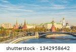 view of kremlin   moskva river... | Shutterstock . vector #1342958642