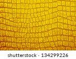 Gold Alligator Patterned...