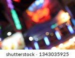 night city lights   defocused... | Shutterstock . vector #1343035925